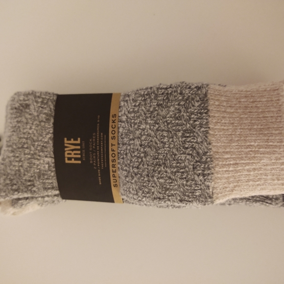 FRYE Supersoft Boot Sock (2 pairs)